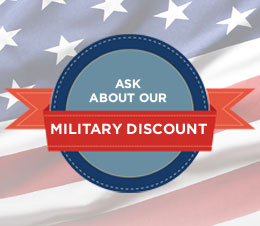 Ask About Our Military Discount