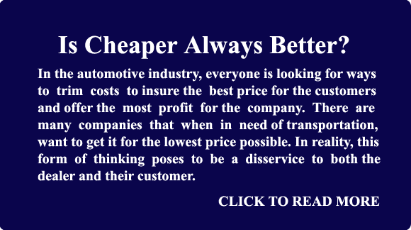 Is Cheaper Always Better?